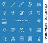 editable 22 canvas icons for...