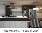 interior design  modern big... | Shutterstock . vector #153941702