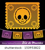 Mexican Day Of The Death Vecto...