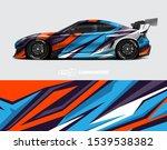 race car wrap decal designs.... | Shutterstock .eps vector #1539538382