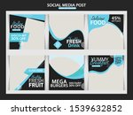 fashion sale social media post | Shutterstock .eps vector #1539632852