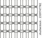 pattern geometry of hexagon... | Shutterstock .eps vector #1539747782