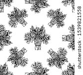 seamless pattern of hand drawn... | Shutterstock .eps vector #1539821558