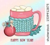 Illustration Of Christmas Mug...