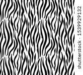 zebra skin stripe pattern ... | Shutterstock .eps vector #1539929132