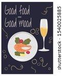 vector illustration of plate... | Shutterstock .eps vector #1540025885