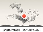 group of self organized objects....   Shutterstock .eps vector #1540095632