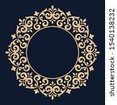 decorative frame elegant vector ... | Shutterstock .eps vector #1540138232