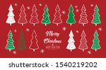 merry christmas greeting card...   Shutterstock .eps vector #1540219202