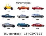 flat design set of car models... | Shutterstock .eps vector #1540297838