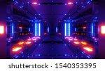 Clean Futuristic Scifi Space...