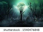 Skeleton Zombie Hands Rising...
