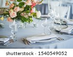 Luxury wedding table decoration....