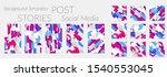 creative backgrounds for social ... | Shutterstock .eps vector #1540553045