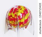 Abstract 3d Render Of Spherica...