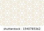 seamless pattern in authentic... | Shutterstock .eps vector #1540785362