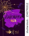halloween party design element... | Shutterstock .eps vector #1540790312