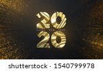 happy new year 2020. holiday... | Shutterstock .eps vector #1540799978