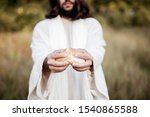 A Biblical Scene   Of Jesus...