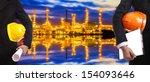 construction engineer | Shutterstock . vector #154093646