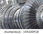 internal rotor of a steam...   Shutterstock . vector #154100918