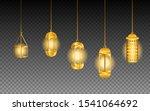 chandelier bundle set for... | Shutterstock .eps vector #1541064692