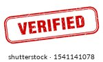 Verified Red Sign. Verified...