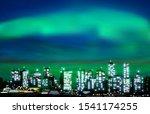 abstract green illustration... | Shutterstock . vector #1541174255