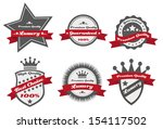 luxury premium quality | Shutterstock .eps vector #154117502