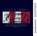 open sea travels. typography  t ...   Shutterstock .eps vector #1541273372