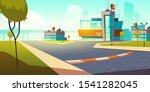 building university of science. ... | Shutterstock .eps vector #1541282045