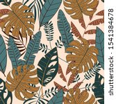 trend seamless pattern with... | Shutterstock .eps vector #1541384678