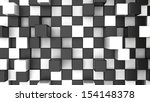 Abstract Checker Background...