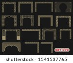 modern decorative set 73 for... | Shutterstock .eps vector #1541537765
