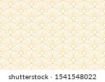 vector floral damask seamless... | Shutterstock .eps vector #1541548022
