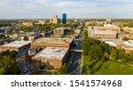 Aerial View University Campus...