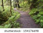Portland Oregon And Trail To...