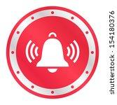ringing bell  metallic ring ... | Shutterstock .eps vector #154180376