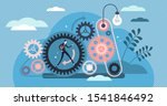 consistent work vector... | Shutterstock .eps vector #1541846492