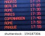 flights departure information