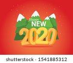 cartoon look of greeting card...   Shutterstock .eps vector #1541885312