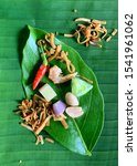 miang kham is a tasty snack of... | Shutterstock . vector #1541961062