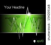 business graph   finance... | Shutterstock .eps vector #154205168