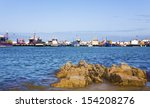 kalk bay harbour with colourful ... | Shutterstock . vector #154208276