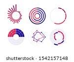 vector color flat chart diagram ...   Shutterstock .eps vector #1542157148
