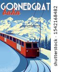Gornergrat Bahn Travel Poster...