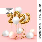 happy new year 2020. background ...   Shutterstock .eps vector #1542207305