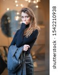 young caucasian fashionable... | Shutterstock . vector #1542210938