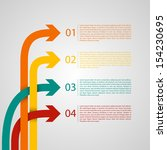 different way infographics  ... | Shutterstock .eps vector #154230695