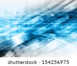 blue  futuristic  background | Shutterstock . vector #154256975